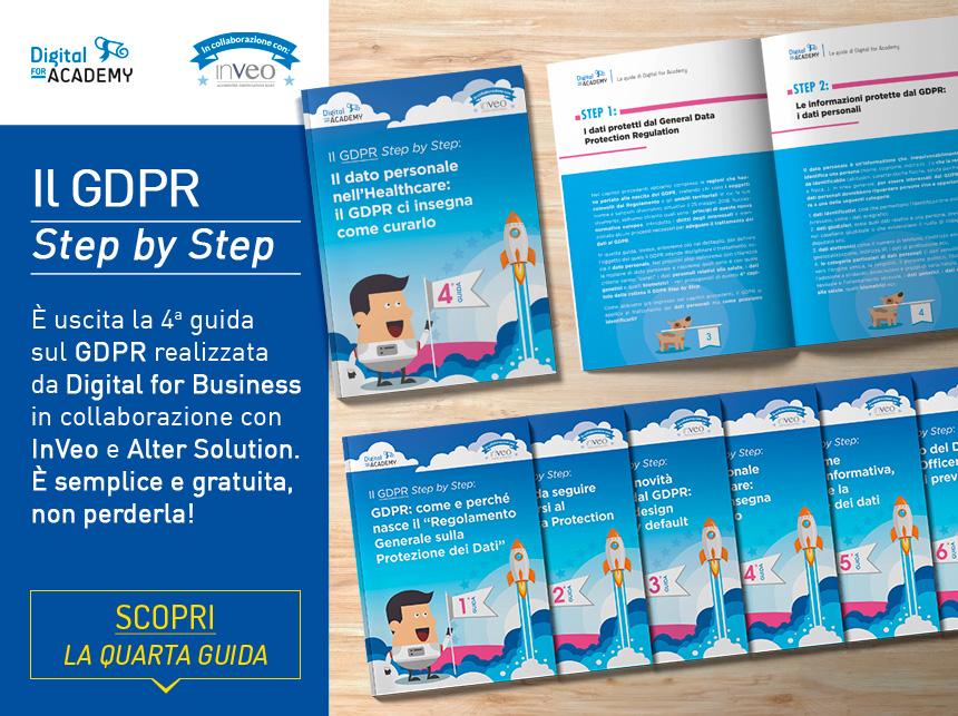 Conosci il dato personale nell'Healthcare con la 4ª guida sul GDPR