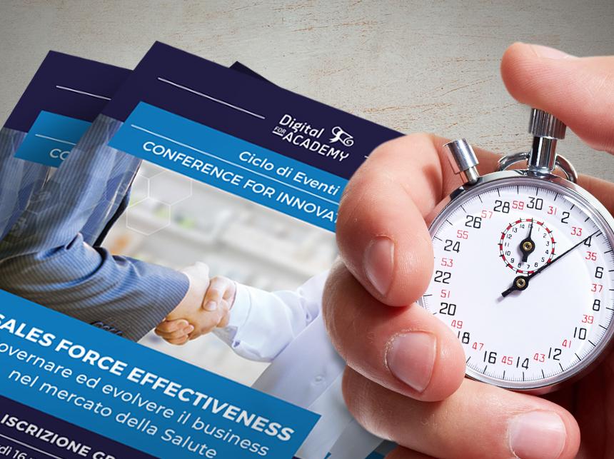 Seminario Sales Force Effectiveness nel mercato della salute - il programma